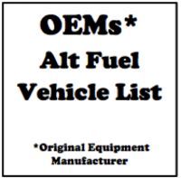 Photo 1 - OEMs with Alternative Fuel Vehicles