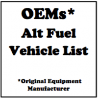 OEMs with AF Vehicles