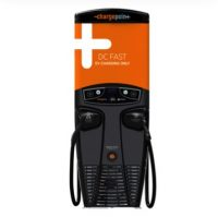 Photo 1 - Express 200 (CPE-200T-S-CHD-CMB): SAE Combo & CHAdeMO L3: DC Commercial Charging Station, (US Version) 12.5' Cord