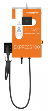 Photo 1 - Express 100 (CPE100): SAE Combo L3: 24 kW, DC Fast Charging Station, (Canadian Version) 20' Cord,