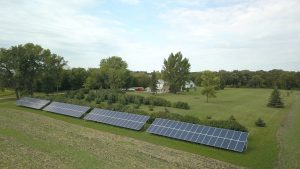 Image number 2 - Solar Farm supplied by Green Ways 2Go has excellent energy production! - Green Ways 2Go
