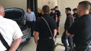 Image number 4 - First Responders Training Course conducted by Green Ways 2Go at the West Chicago Fire Training Centre - Green Ways 2Go