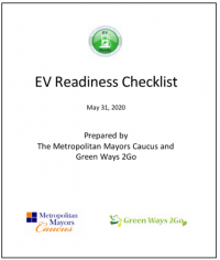 Photo 1 - EV Readiness Checklist for Municipalities
