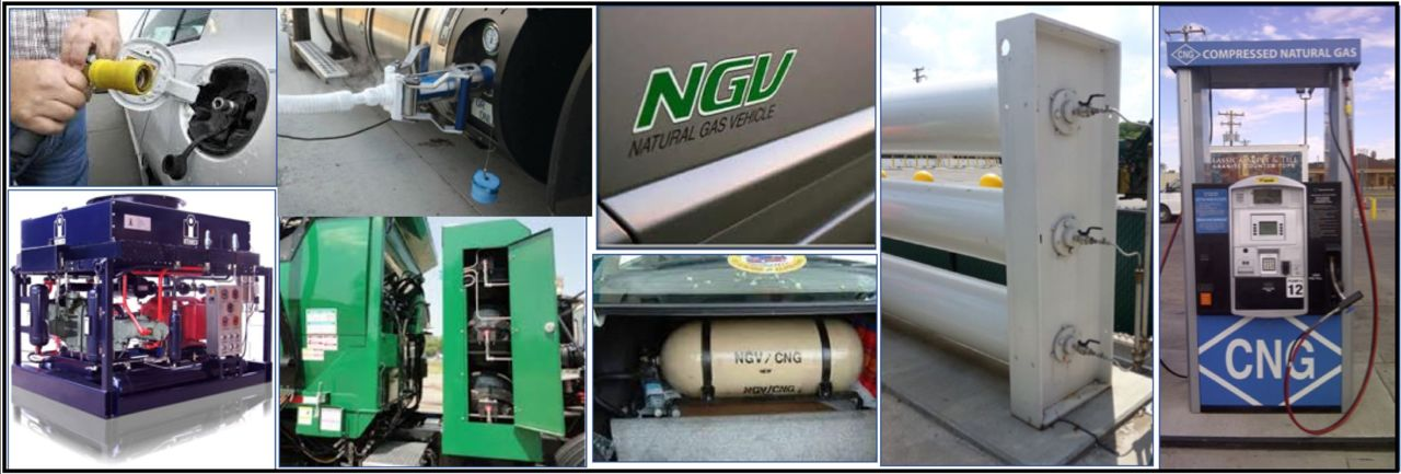 Natural gas vehicle image